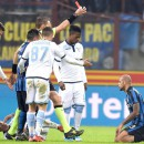 Inter midfielder Melo banned for three games for head kick