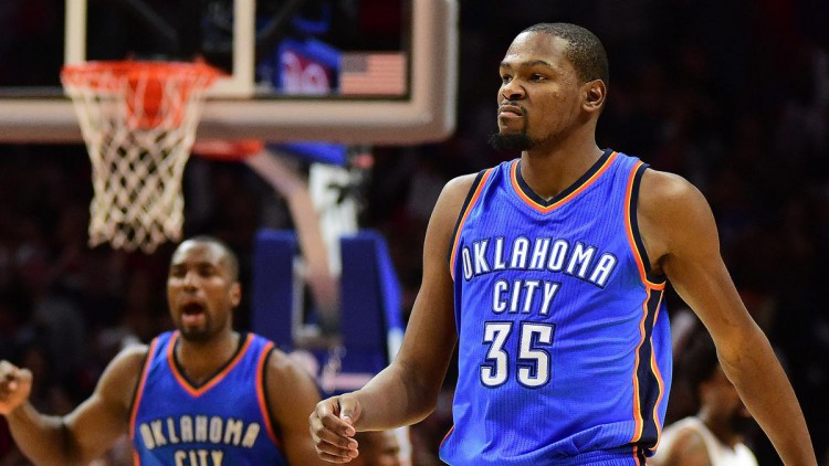 KD channels his inner Mike Trout to sink Clippers in SoCal