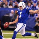 Colts punter Pat McAfee volunteers for backup quarterback job