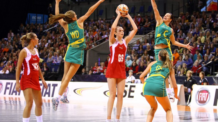 Netball, Slamball and other sports that use a ball and hoop