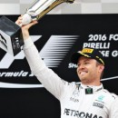 Nico Rosberg extends lead over Mercedes team-mate Lewis Hamilton