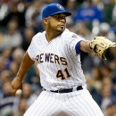 YOU SHOULD BE ROOTING FOR BREWERS' 31-YEAR-OLD ROOKIE PITCHER JUNIOR GUERRA (3-0) TONIGHT