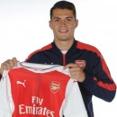 Granit Xhaka changes his number already but club promise free shirt reprints for fans