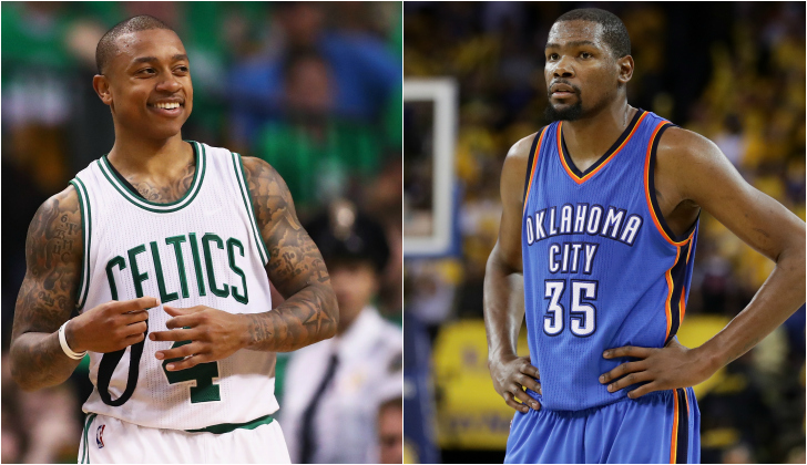 Isaiah Thomas Wants Kevin Durant In Boston, Tweets The Total Wrong Thing