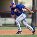 How did Tim Tebow do in his 1st Mets workout?