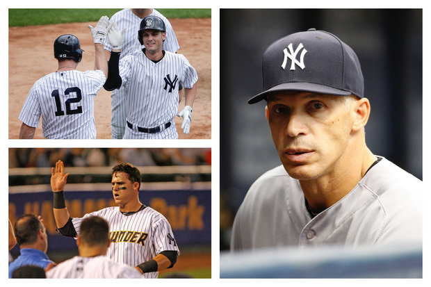 Joe Girardi, Tyler Austin, Greg Bird