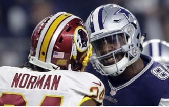 DEZ BRYANT VS. JOSH NORMAN ISN'T THE FEUD WE DESERVE, BUT IT'S THE ONE WE NEED