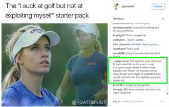 FAIR WARNING: YOU TROLL PAIGE SPIRANAC ON INSTAGRAM AT YOUR OWN PERIL