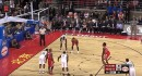 Rockets rookie breaks out 'granny-style' underhand free throw in NBA debut