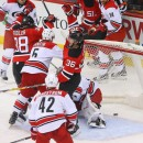 What Nick Lappin, Yohann Auvitu gained while scratched from Devils' lineup