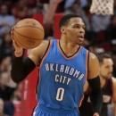 NBA Wrap: Thunder lose despite Westbrook's triple-double