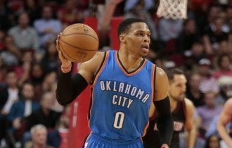 NBA Wrap: Westbrook's triple-double helps Thunder to victory