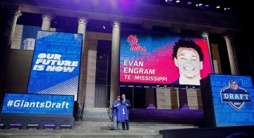 Jerry Reese offers his vision for Giants' Evan Engram: 'A matchup nightmare'
