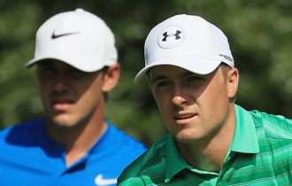 Major champs Spieth and Koepka finish in style